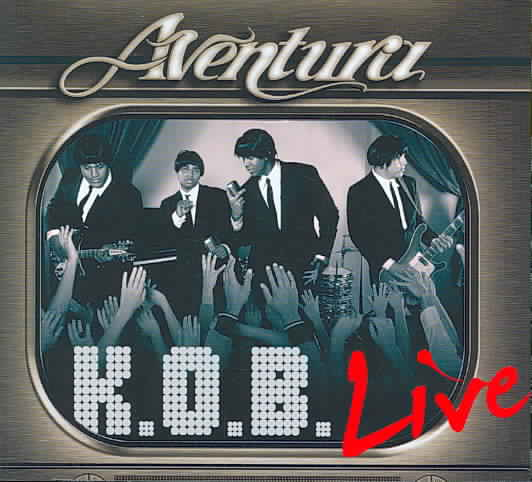 K.O.B. LIVE BY AVENTURA (CD)
