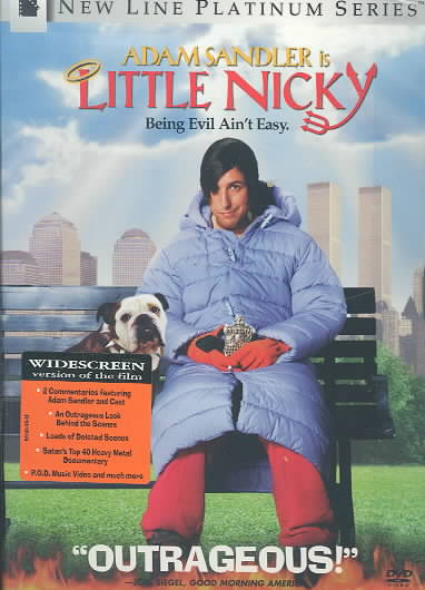 LITTLE NICKY BY SANDLER,ADAM (DVD)